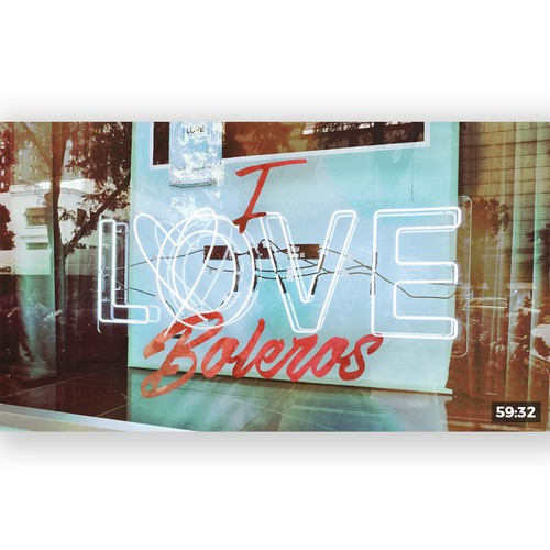 YouTube cover art for a playlist with love songs.