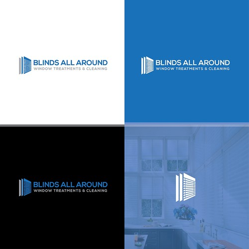 Blinds All Around Logo Concept