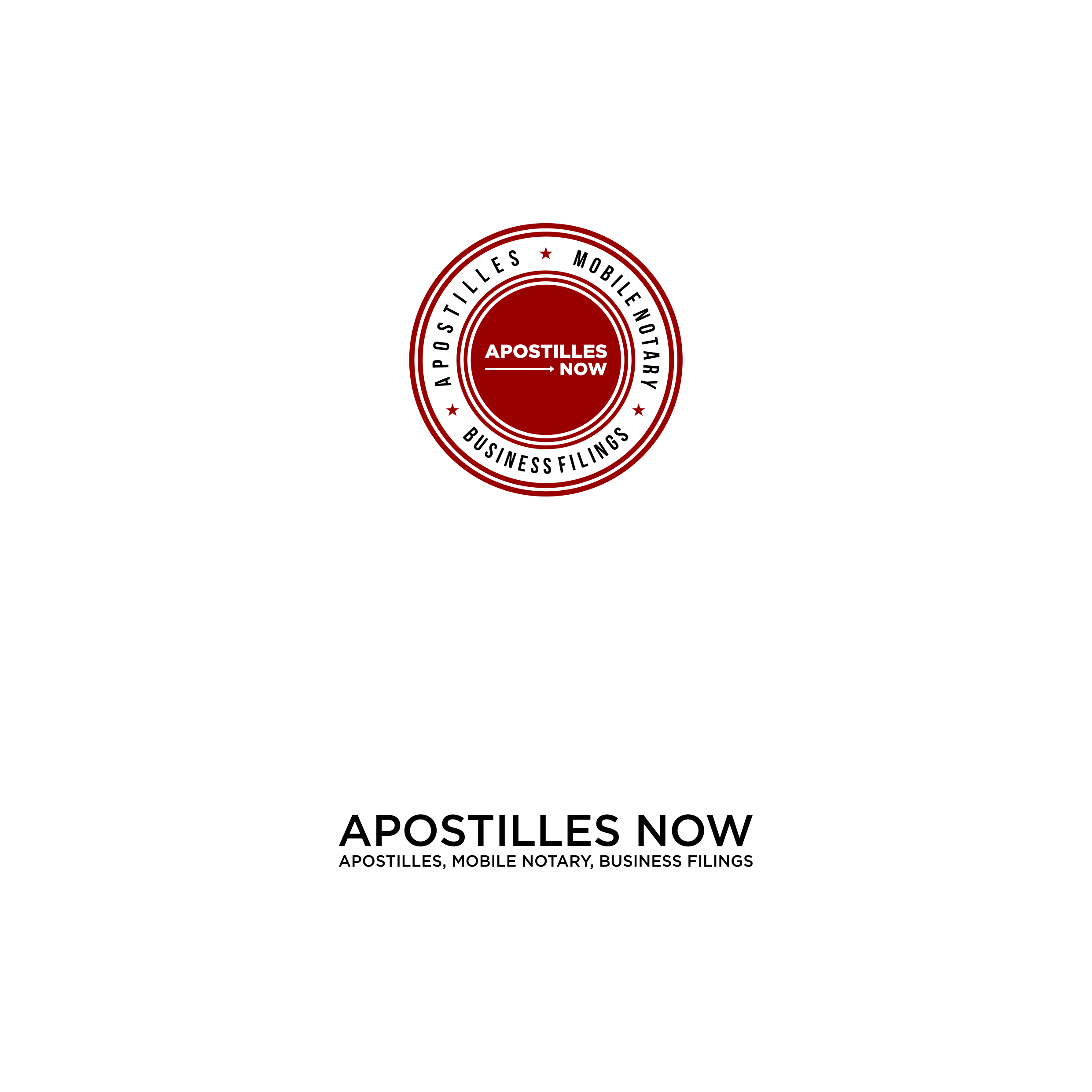 Design a compelling logo for an Apostille/Mobile Notary business