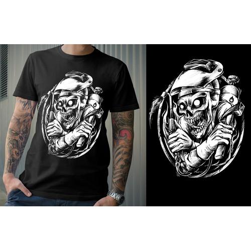 Badass welders skull