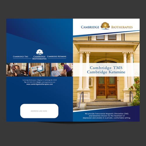 Brochure Cover for Cambridge Biotherapies