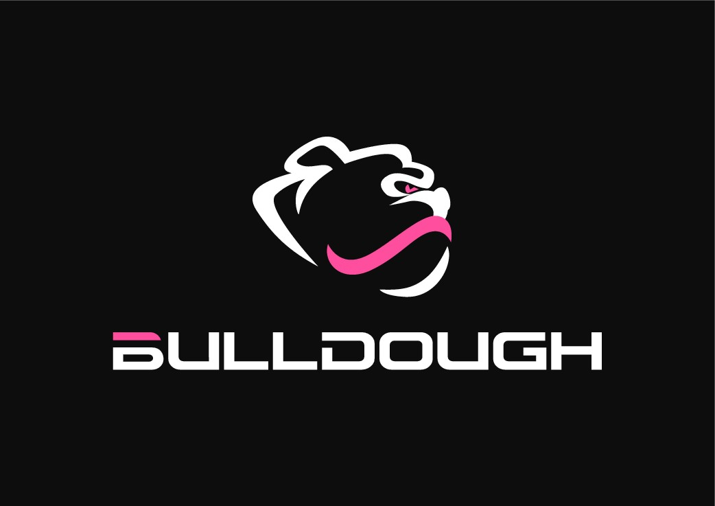 Create a unique, but simple and inspiring logo for Bulldough (bulldog / toughness)