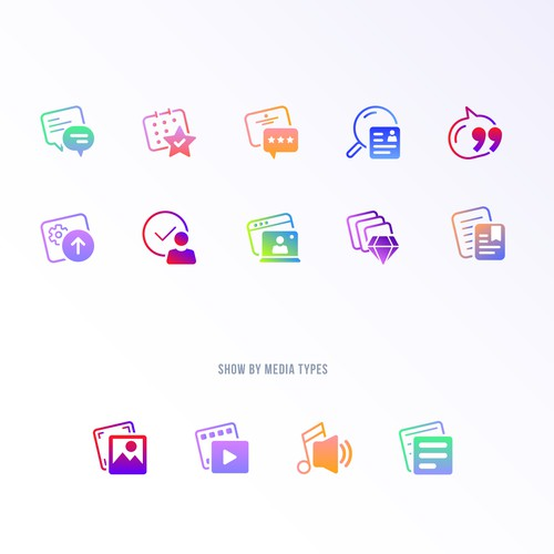 Icon Set for Skipio