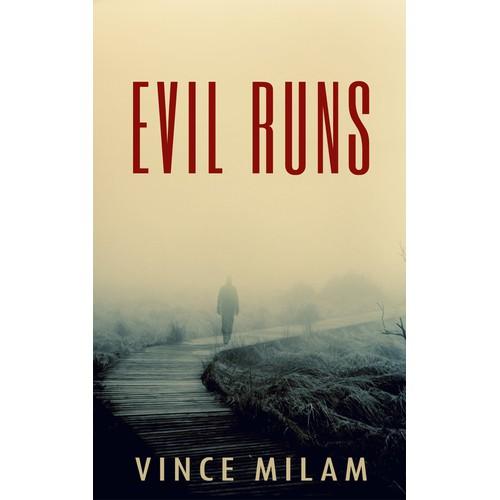 Create an e-book cover for a supernatural thriller/mystery novel