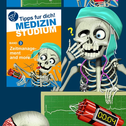 e-book cover about medicine education