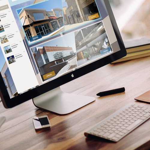 Webdesign Concept for Real Estate Company