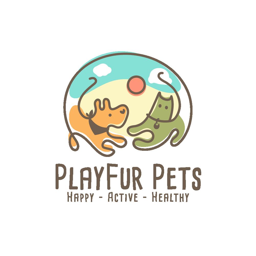 New Pet Toy Brand Needs Fun & Active Logo