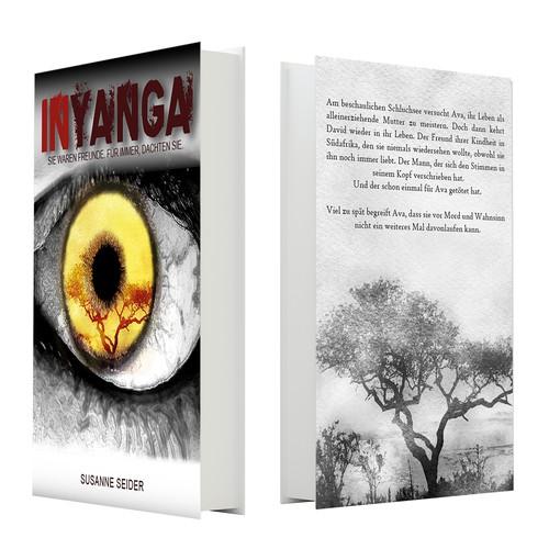 Buchcover-Entwürfe