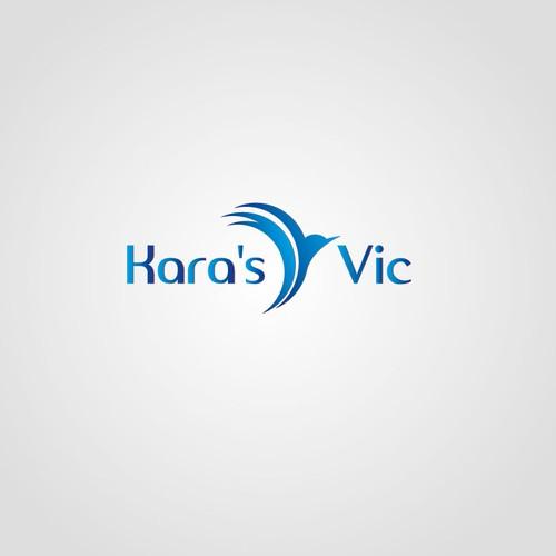 Create the next logo for Kara's Vic