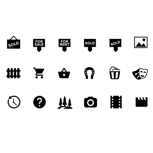 SVG Icons needed for custom Icon Font!