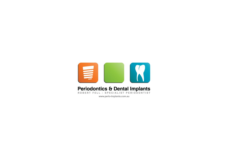 Help Periodontics & Dental Implants, Robert Fell - Specialist Periodontist with a new logo