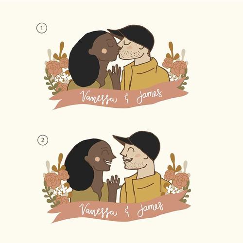 Wedding Giveaways Illustration