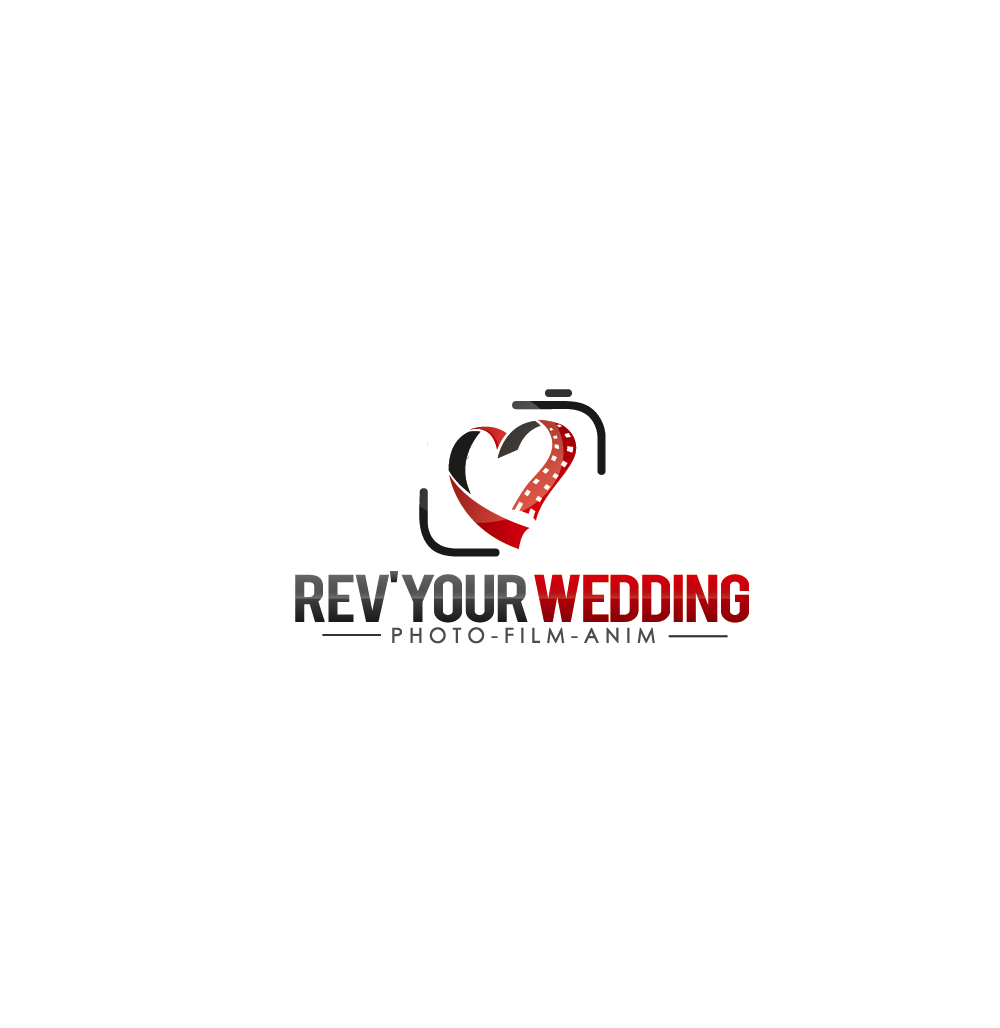 Create a logo for a wedding photographer and filmaker agency