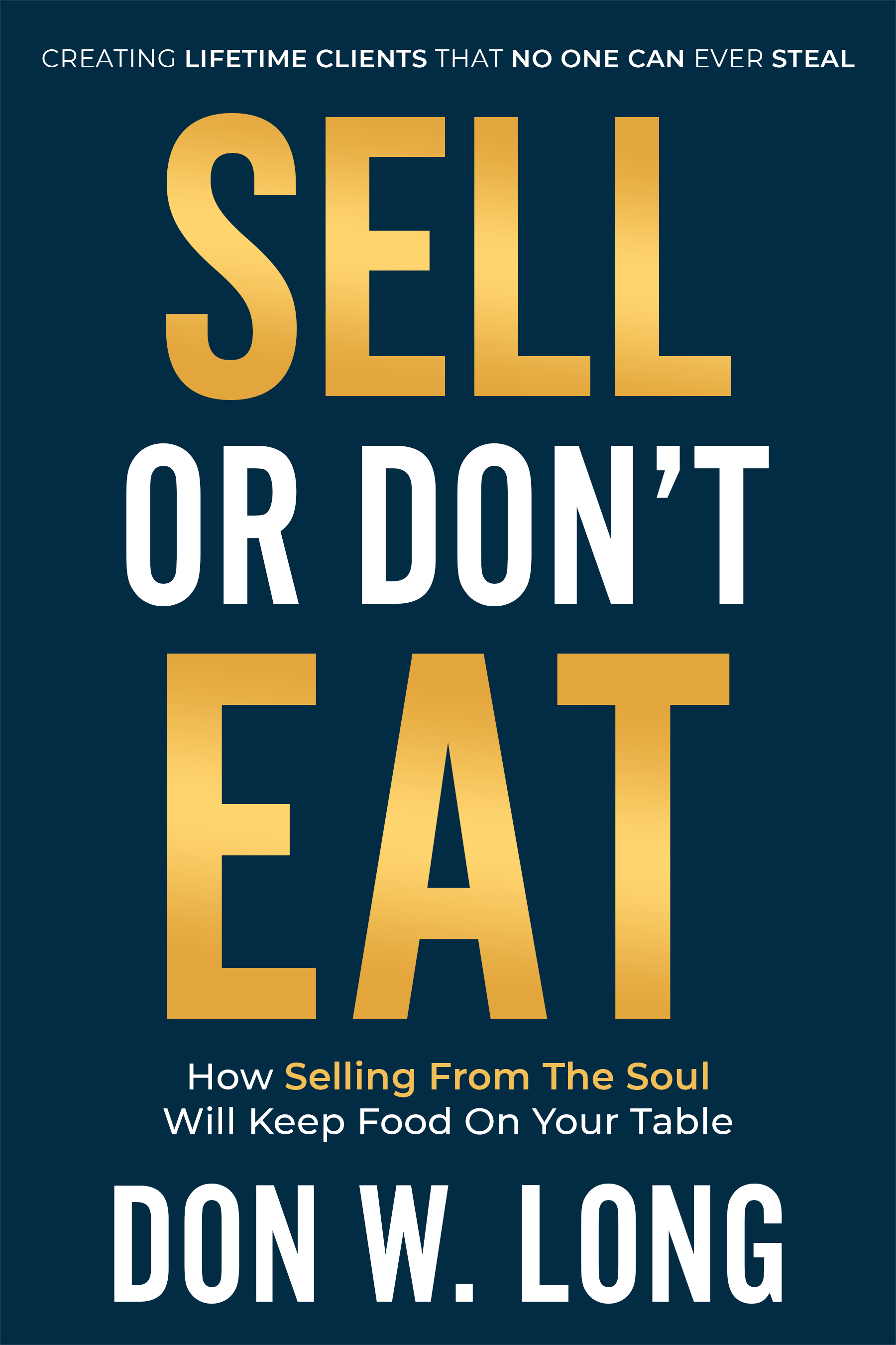 Design a bold and bestselling cover for Sell or Don't Eat!
