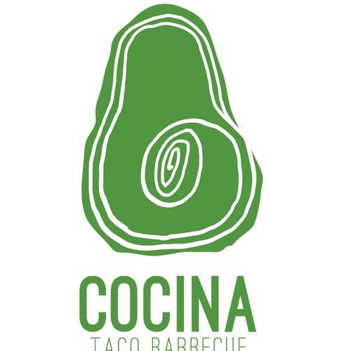 Cocina London Taco Food Truck Logo