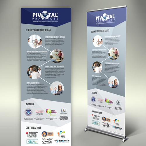 Roll-Up Banner for Pivotal Practices