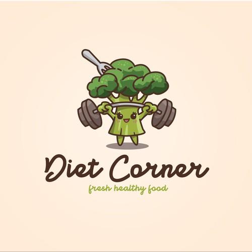 Diet Corner logo concept