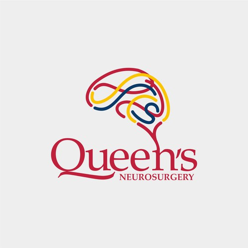 Abstract Logo for Neurosurgery Department of Queen's University
