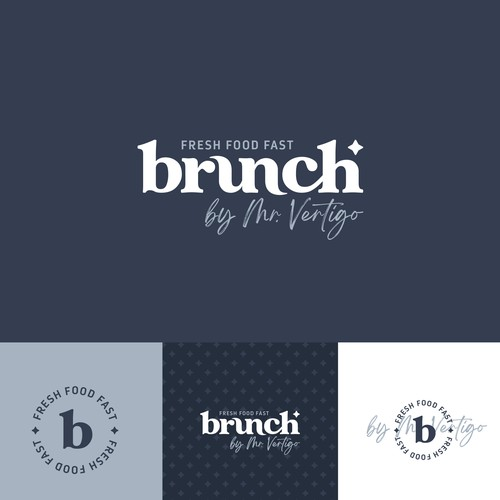 Logo for a cool breakfast and lunch spot