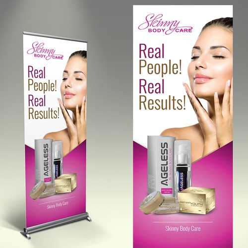 **Guarantee Prize** - **MULTIPLE WINNERS** - Stand Up Banners for Weight Loss Company