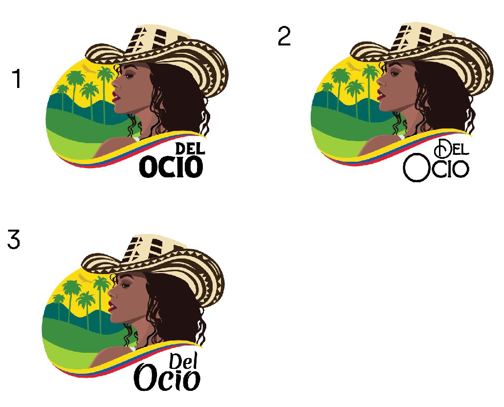 Bright Colombian/latin logo for upcoming fresh brand