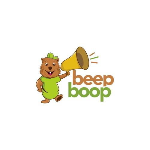 beep boop logo
