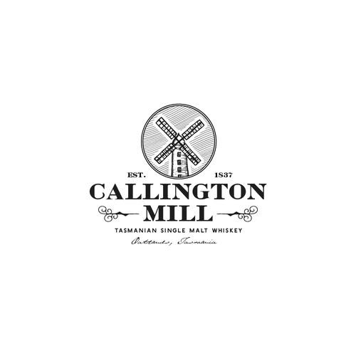 Logo Design Concept for Callington Mill