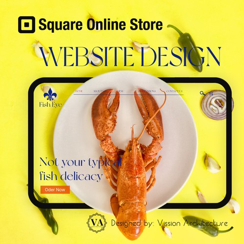 SQUARE ONLINE STORE | Design for Fish Eye