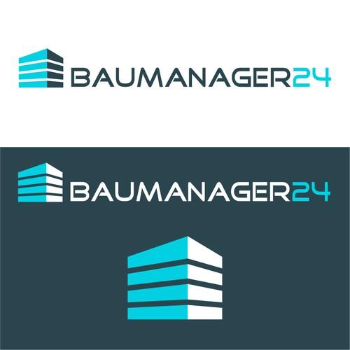Baumanager24 Logodesign