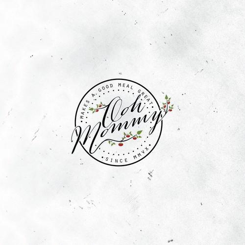 Ooh Mommy Foods needs a tasty logo