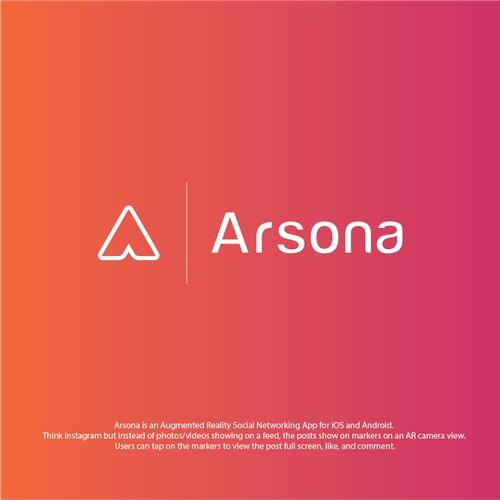 Logo Design for Augmented Reality social media
