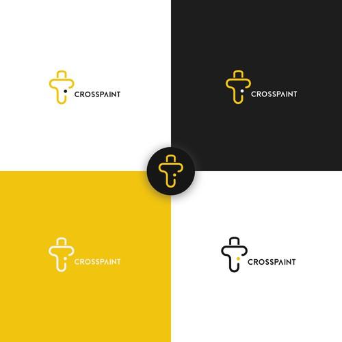 Concept logo l CROSSPAINT