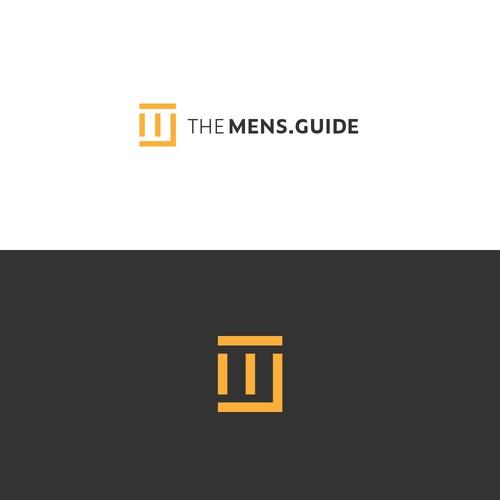 Logo concept for a mens lifestyle website