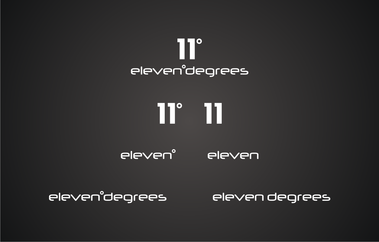 New logo wanted for 11 Degrees or (Eleven Degrees)