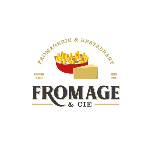 Logo for Fromage & Cie.