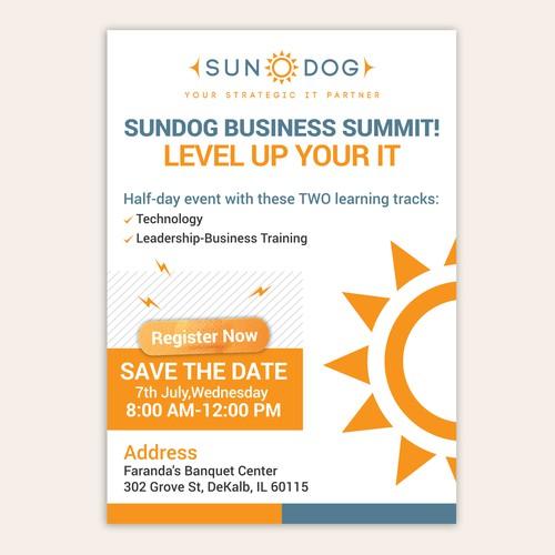 Sundog Business Summit Invitational (Design for Big Business Event)!