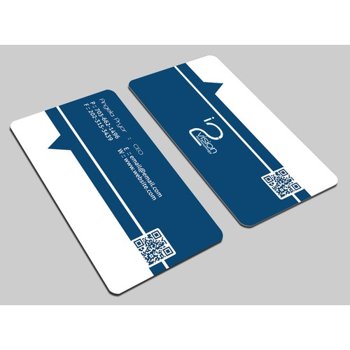Help me realize the vision of my customers! In2Vision Biz Card contest