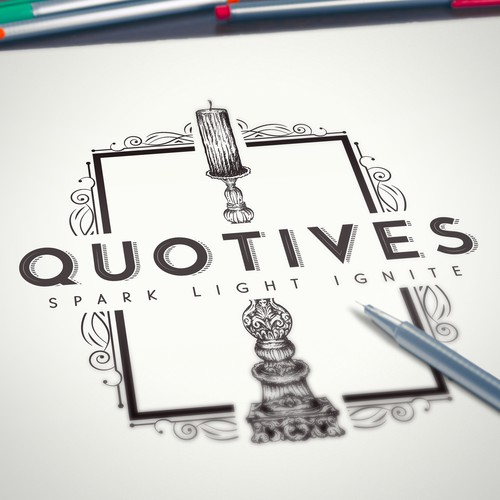 Logo/branding for Quotives