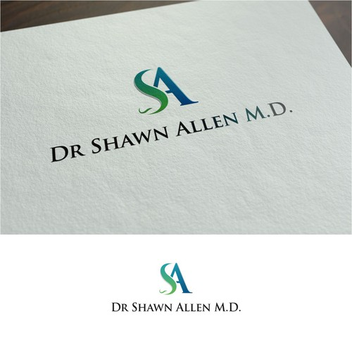 Dr Shawn Allen M.D. - Logo for private practice