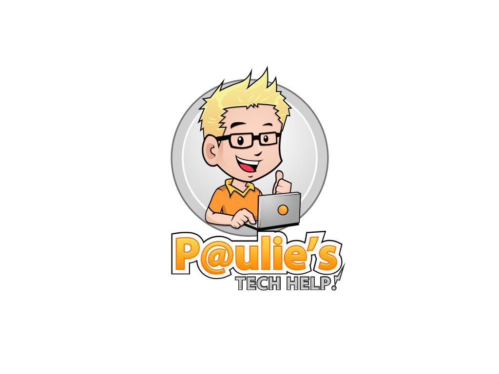 logo for Paulie's Tech Help!