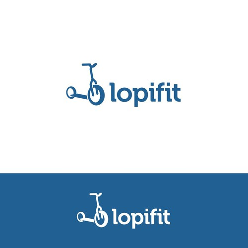 logo design concept for Lopifit
