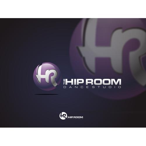 3D the HIP ROOM logo