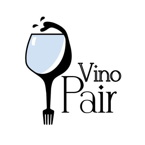 Vino Pair Logo Design