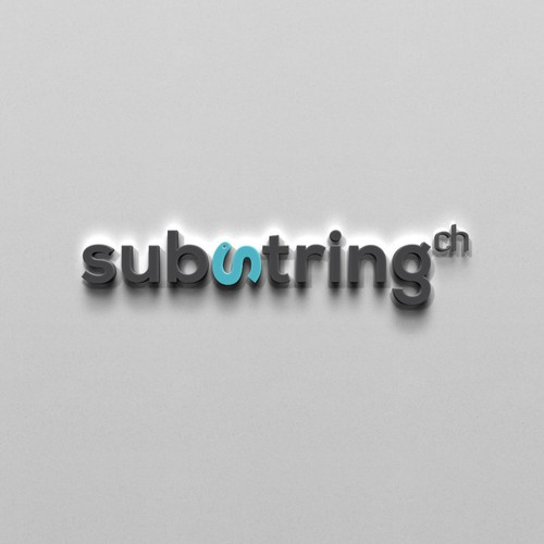 Corporate Identity for substring.ch