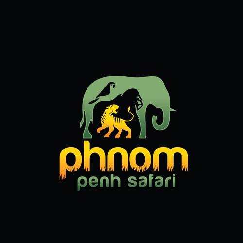 zoo/safari park logo design