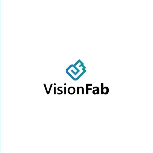 VisionFab Logo Design