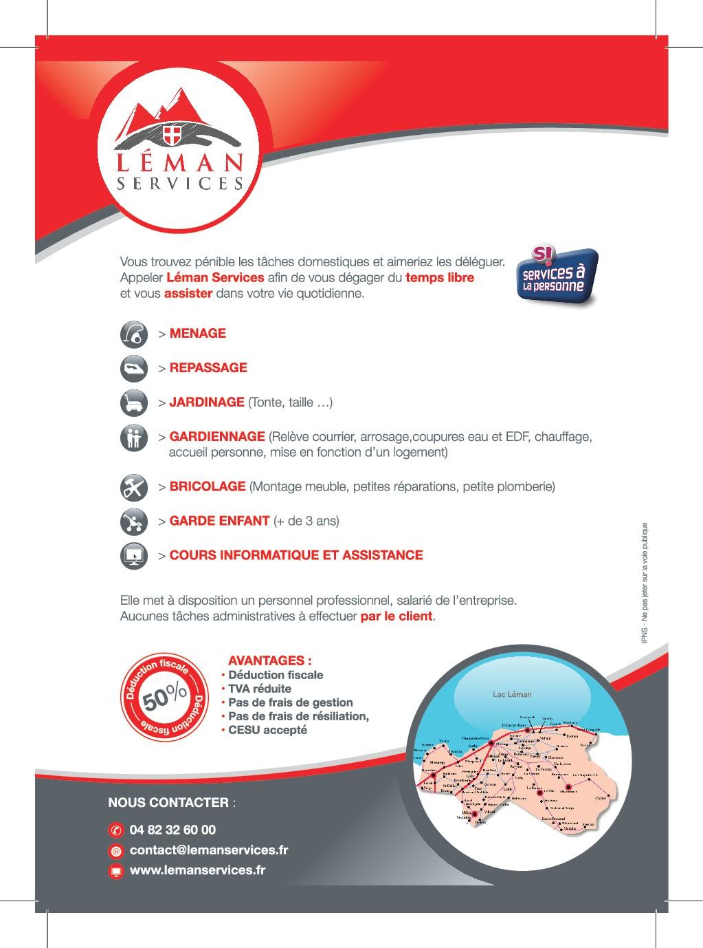 leman services  flyer