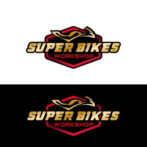 logo for Super Bikes workshop