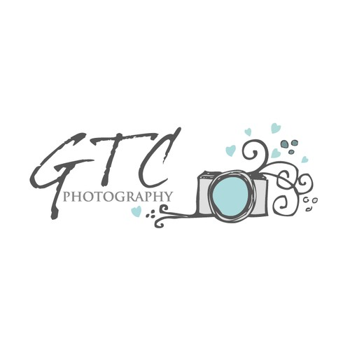 sketchy camera photographer logo