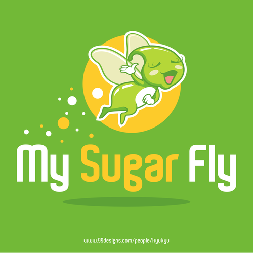 Create a cleaver logo with a sassy personality for a modern diabetesblog!